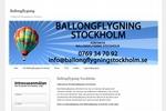 Ballongflygningstockholm.se