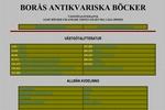 Borås Antikvariska Böcker