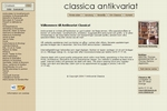 Antikvariat Classica