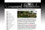 Gravvård Stockholm